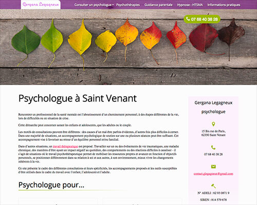 site psychologue Saint Venant